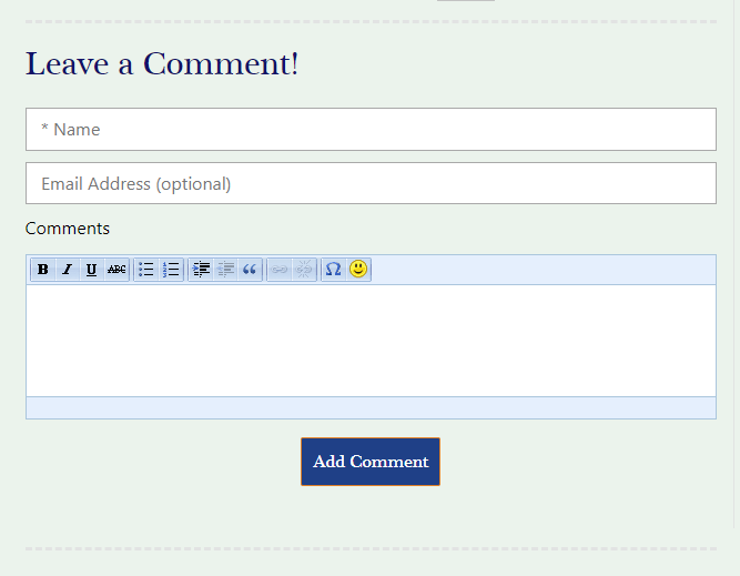 Adding a Comment in iPlasmaCMS2 Blog Module