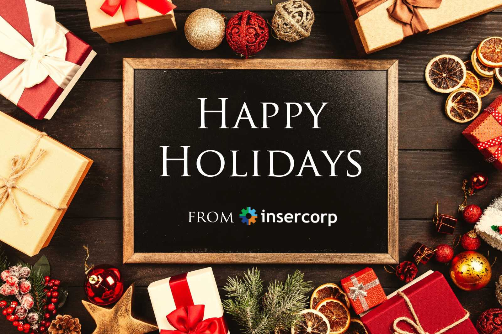 Happy Holidays from Insercorp!