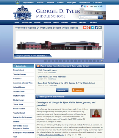 Georgie D. Tyler Middle School